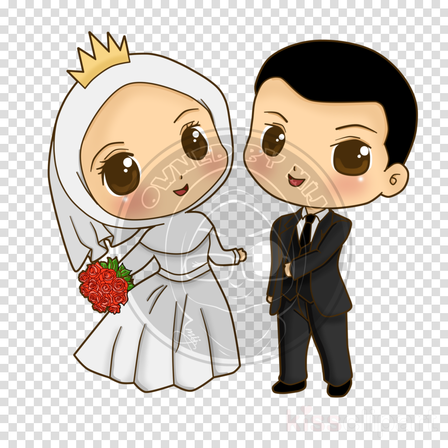islamic wedding cartoon png clipart Wedding invitation Clip art