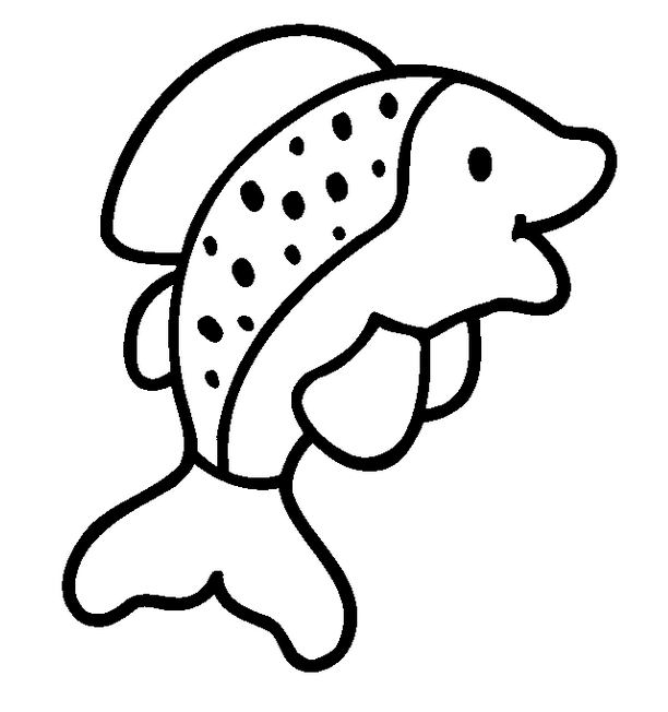 fish coloring pages clipart Coloring book Deep Sea Creatures Child