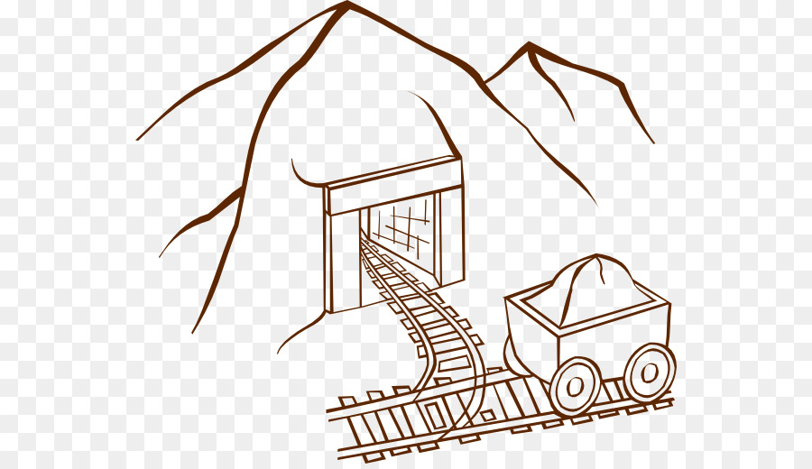 mine coloring pages clipart California Gold Rush Coloring book Mining