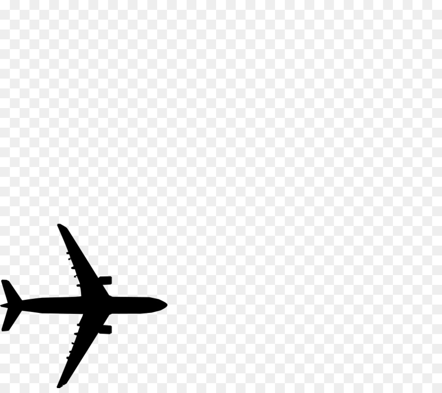 Black Line Background Clipart Airplane Graphics Cartoon