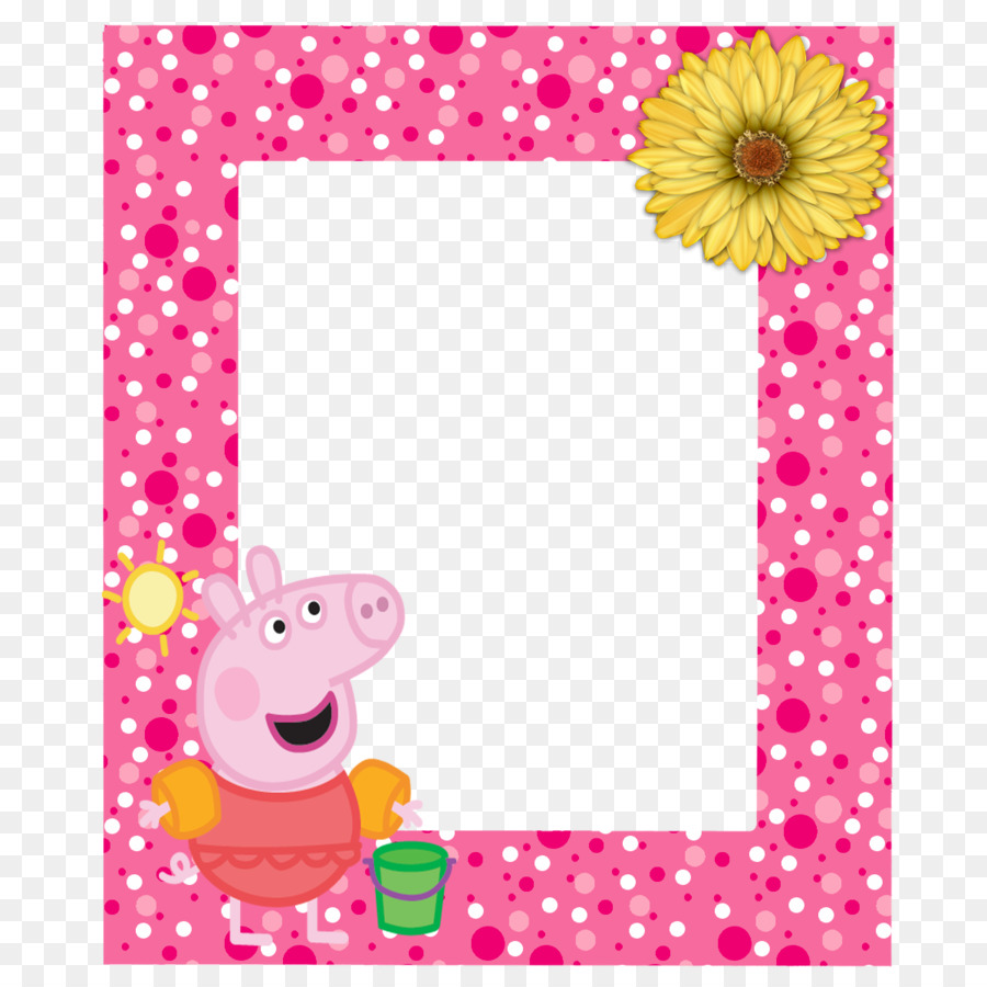 Party Background Frame