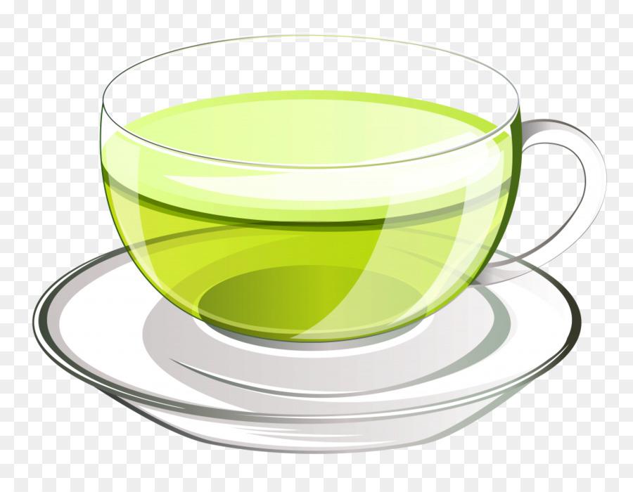 png tea clipart Green tea Coffee
