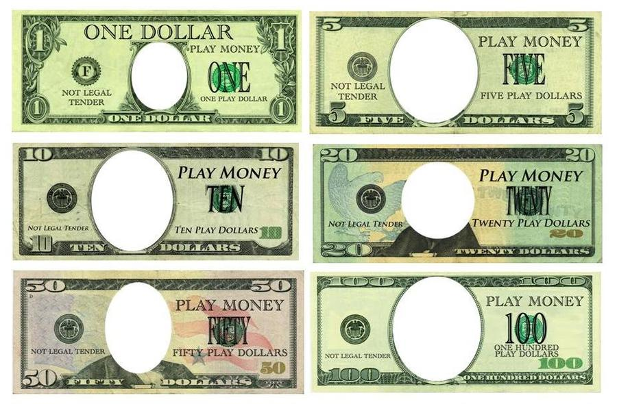 download play money template clipart play money template