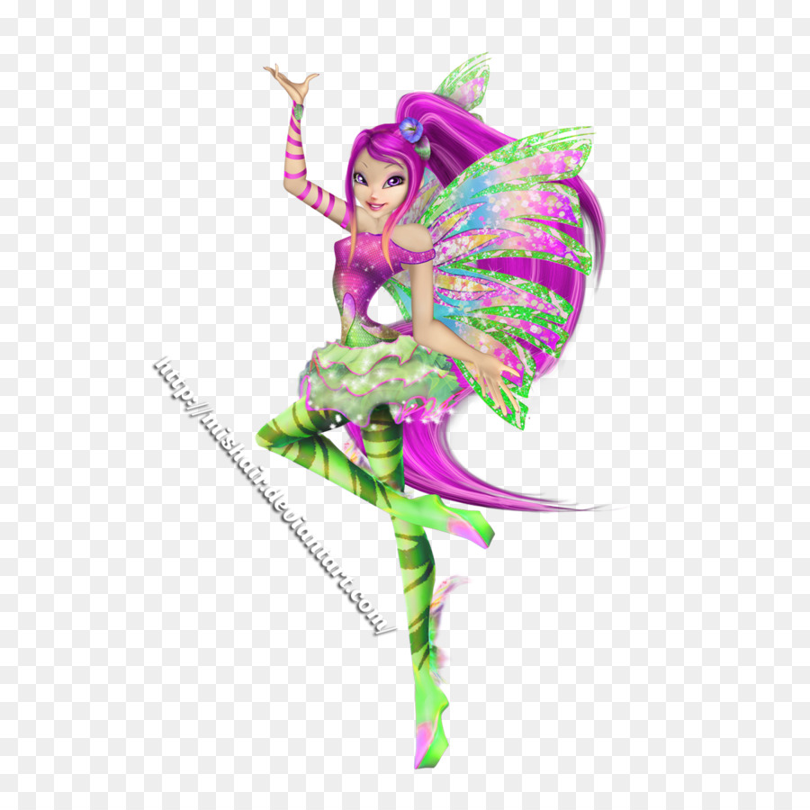 winx club roxy sirenix 3d clipart Roxy Bloom Floratransparent png