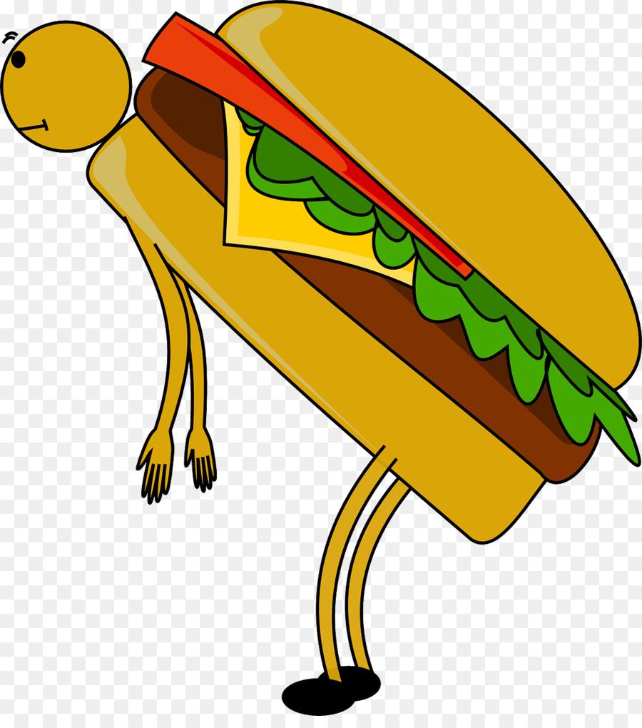 Burger Cartoon