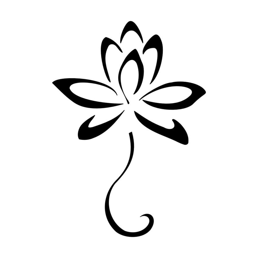 Download Lotus Flower Tattoo Clipart Sacred Lotus Tattoo Symbol