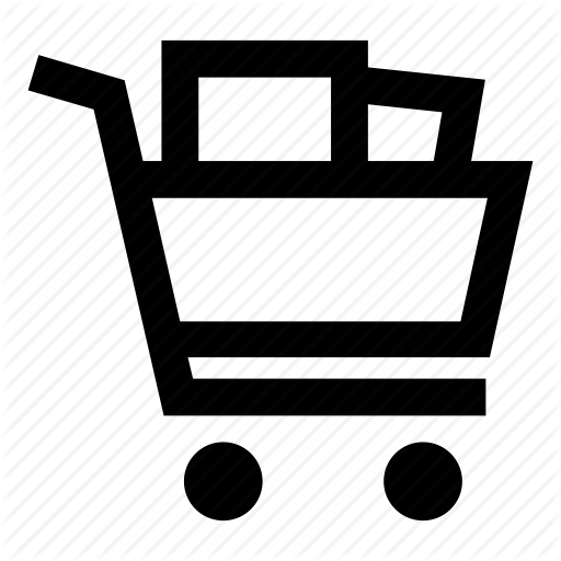 Shopping Cart Icon Background