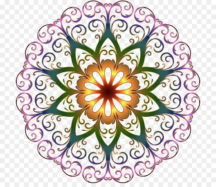 round floral design png clipart Floral design Decorative arts Clip art