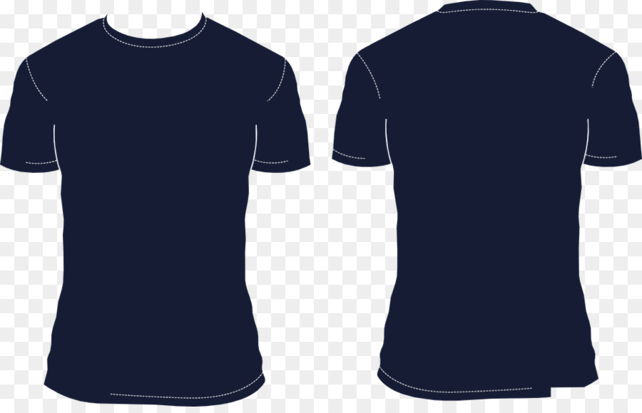 navy blue shirt clipart T-shirt Polo shirt Clip art