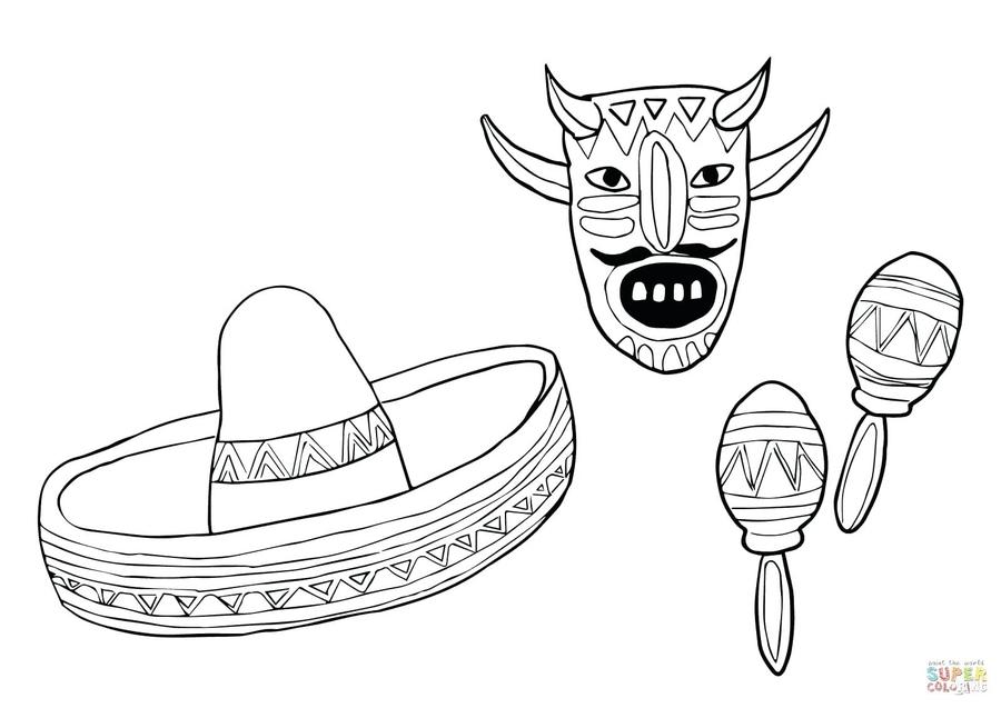 Download artesanias mexicanas para colorear clipart Mexico Coloring ...