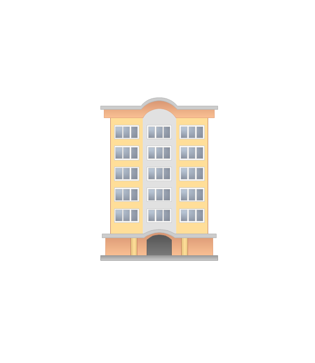 Draw An Apartment Clipart Drawing Building
