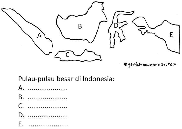 Clipart Resolution 735 521 Mewarnai Gambar Peta Indonesia Clipart