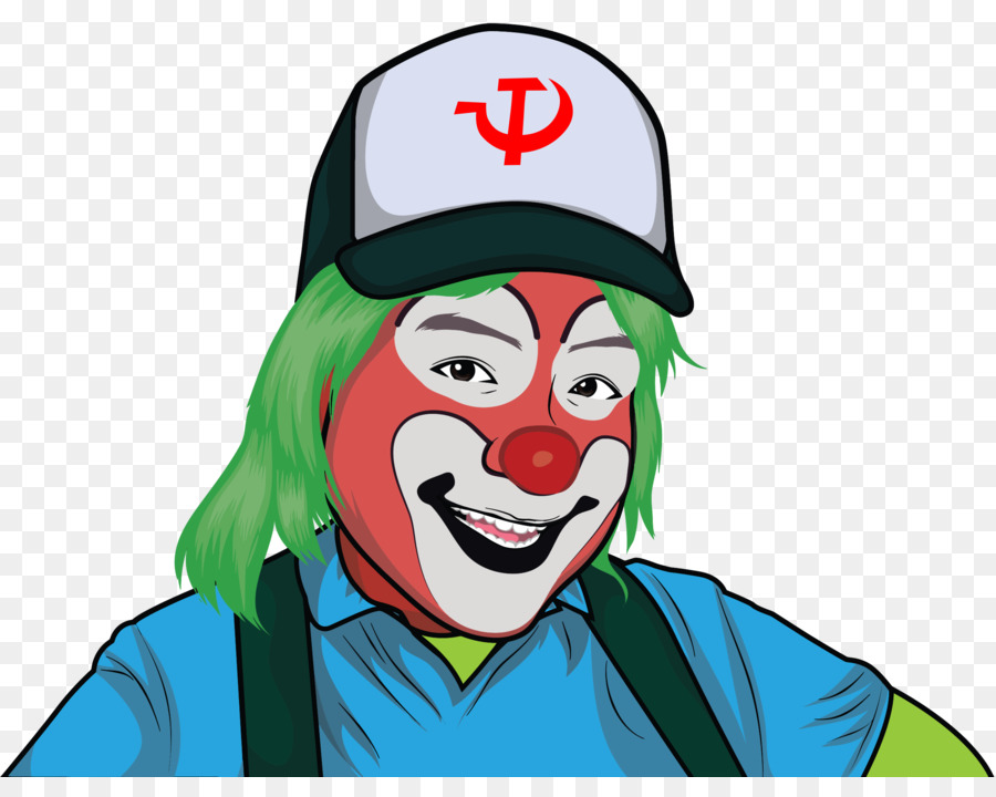 communist clown clipart Clown Clip art