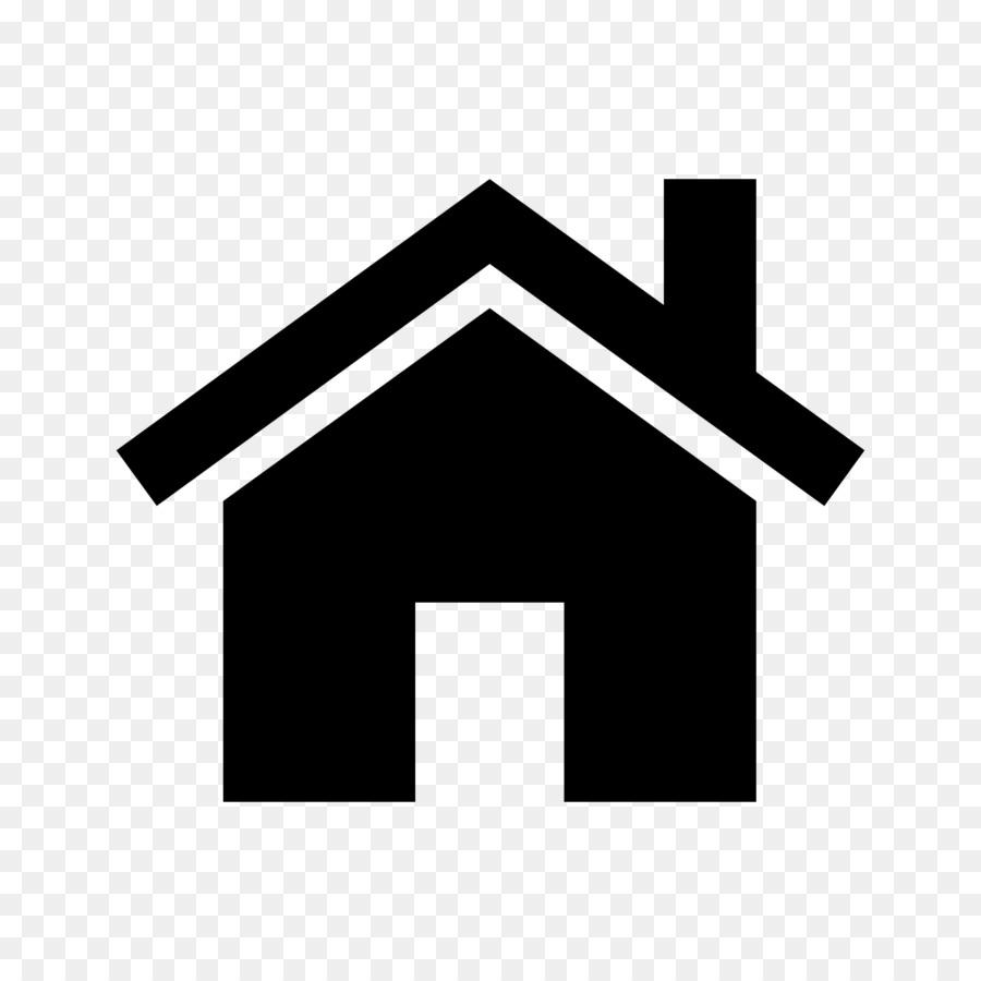 Black Line Background Clipart House Home Black Transparent Clip Art