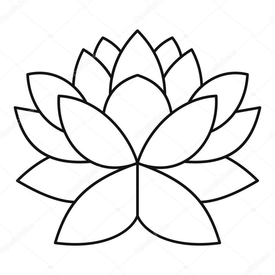 Download Lotus Flower Vector Clipart Royalty Free Clip Art