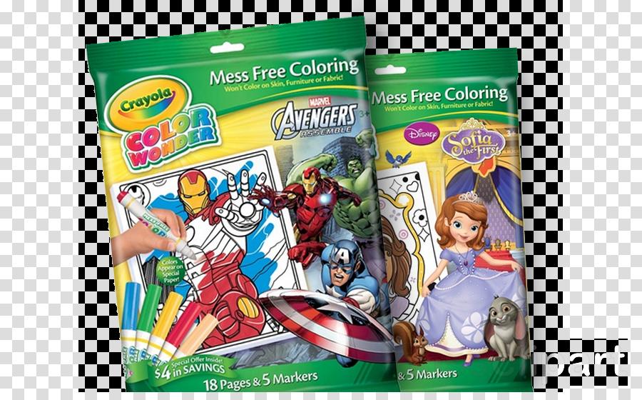crayola magic coloring book clipart Color Wonder Coloring book Crayola