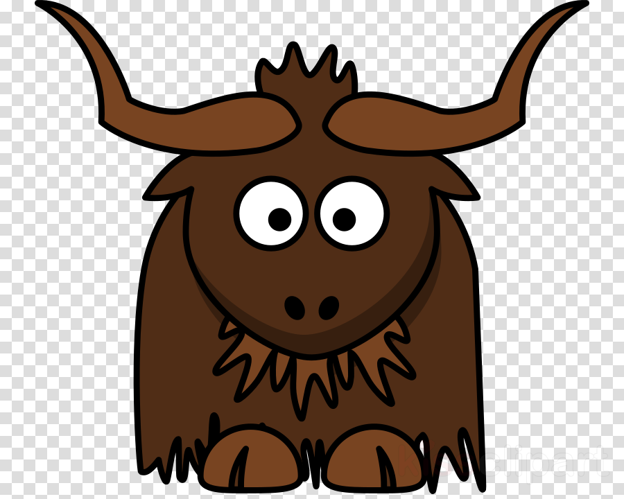 cartoon yak clipart Clip art