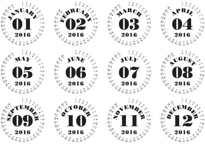 Calendar Typography S : Download calendar clipart typography