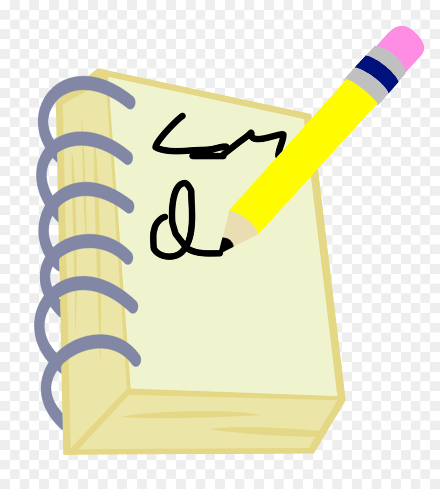 Paper Notebook Pencil Transparent Png Image Clipart Free Download