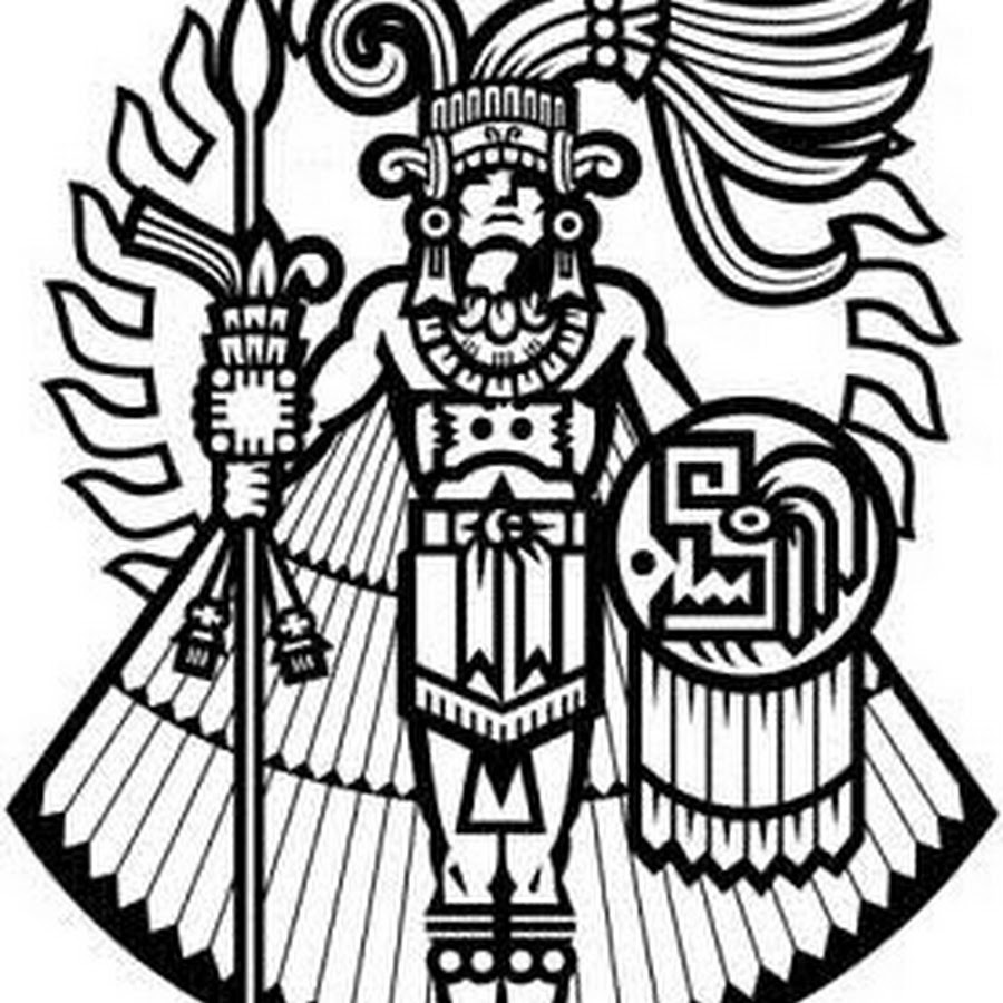 Download Aztec Symbol For Strength Clipart Eagle Warrior Symbol