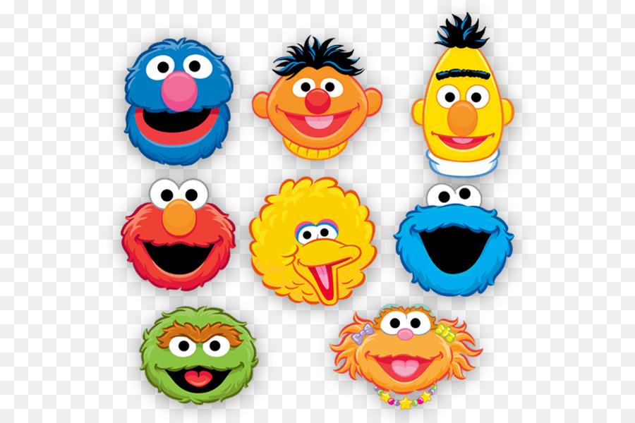 Bert Sesame Street Clipart Elmo Emoticon Smile