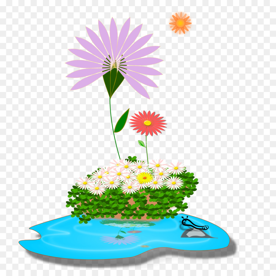 Coreldraw Flower Drawing Transparent Png Image Clipart Free