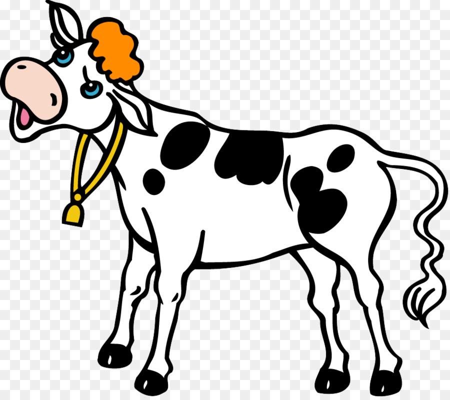 cartoon cow clipart Guernsey cattle Drawing Clip art