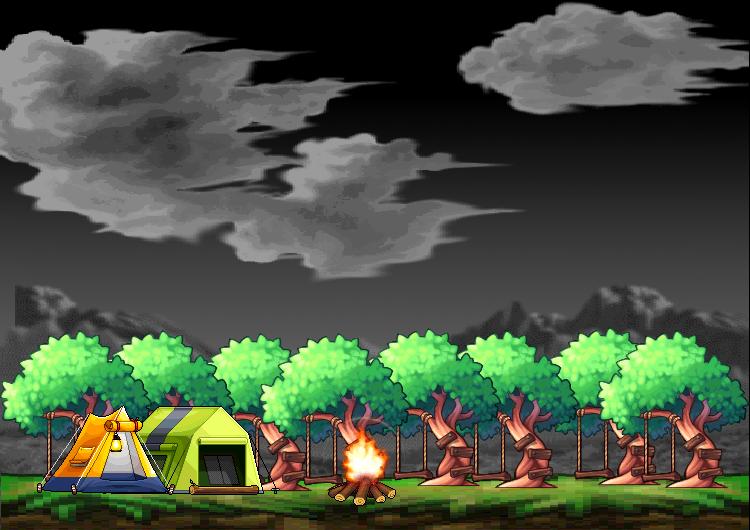 Green Grass Background Clipart Camping Tent Nature Transparent Clip Art