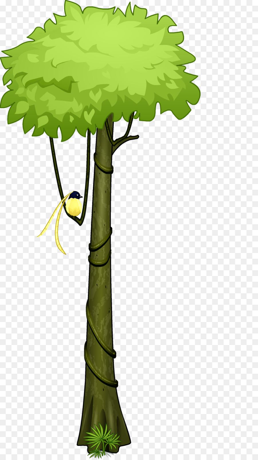 Tree Plants Forest Transparent Png Image Clipart Free Download