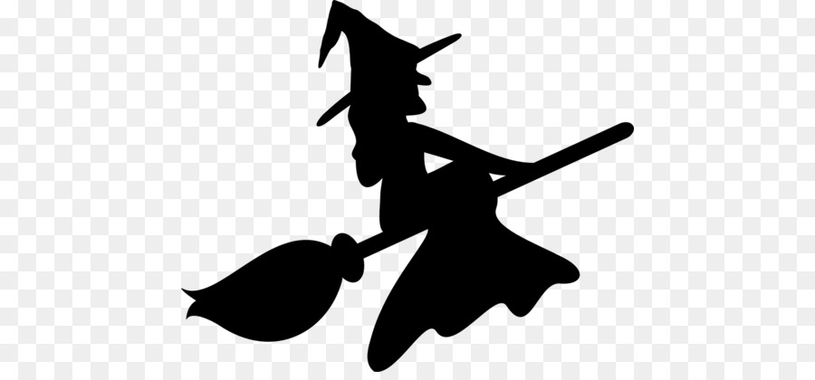 Halloween White Background Clipart Silhouette Drawing Halloween Transparent Clip Art