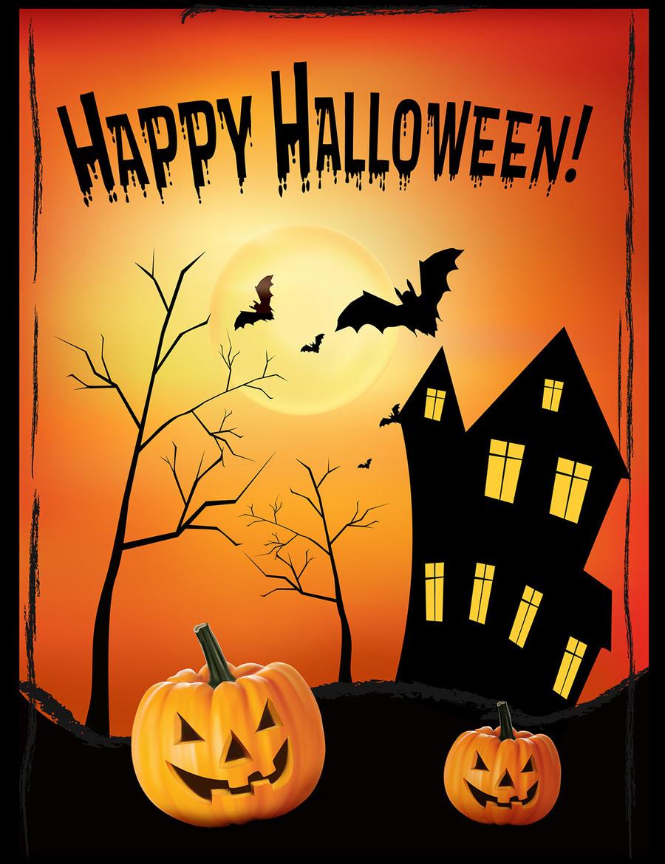 download poster halloween clipart halloween poster | halloween