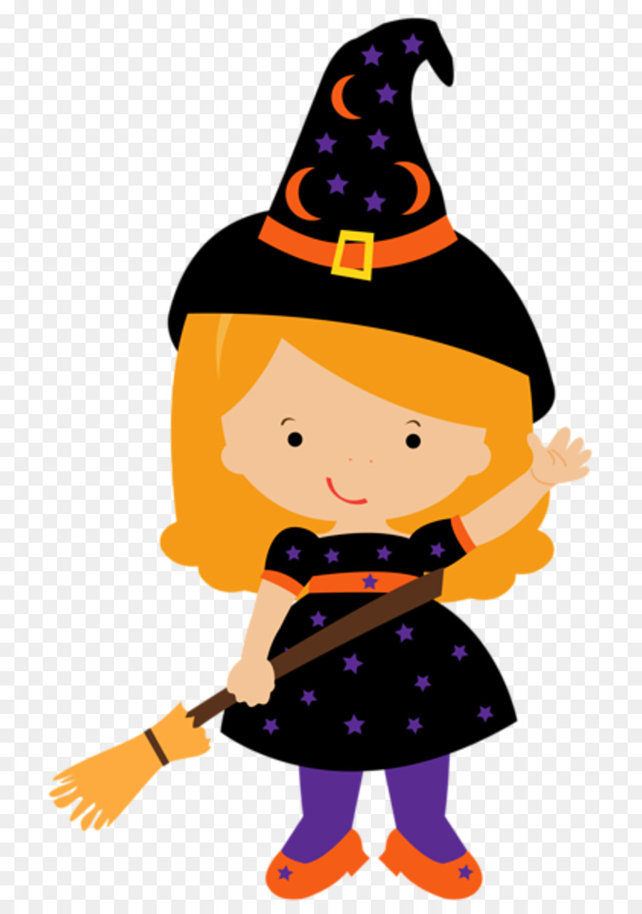 Halloween Scary Cartoon Witch Stock Illustration - Illustration of color,  clipart: 3033685