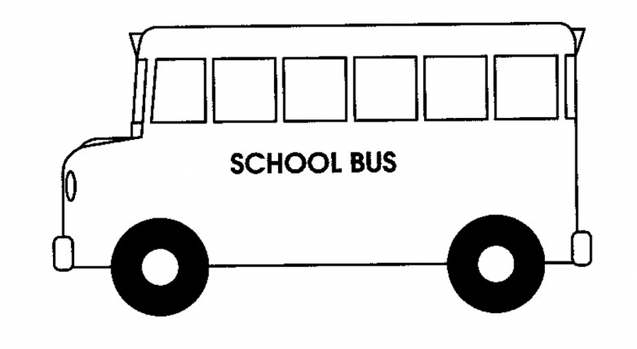 Download school bus coloring page clipart School Bus Safety ...