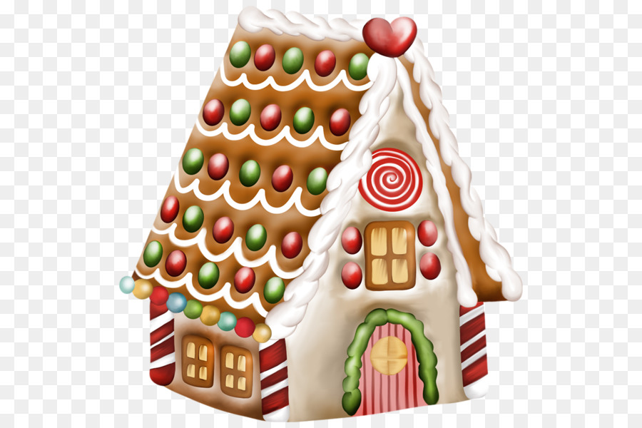 Christmas Gingerbread House Background.Christmas Gingerbread Man Clipart Food Dessert Christmas