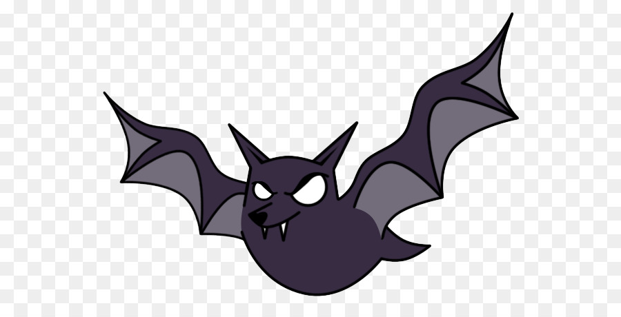 Bat cartoon. Clipart graphics purple transparent