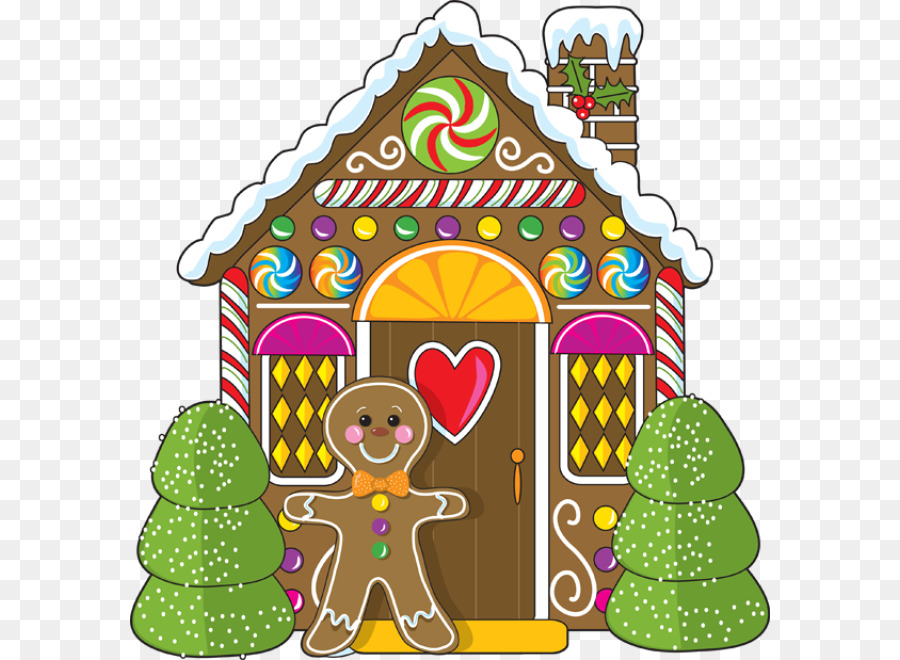 gingerbread house png clipart Gingerbread house Clip art