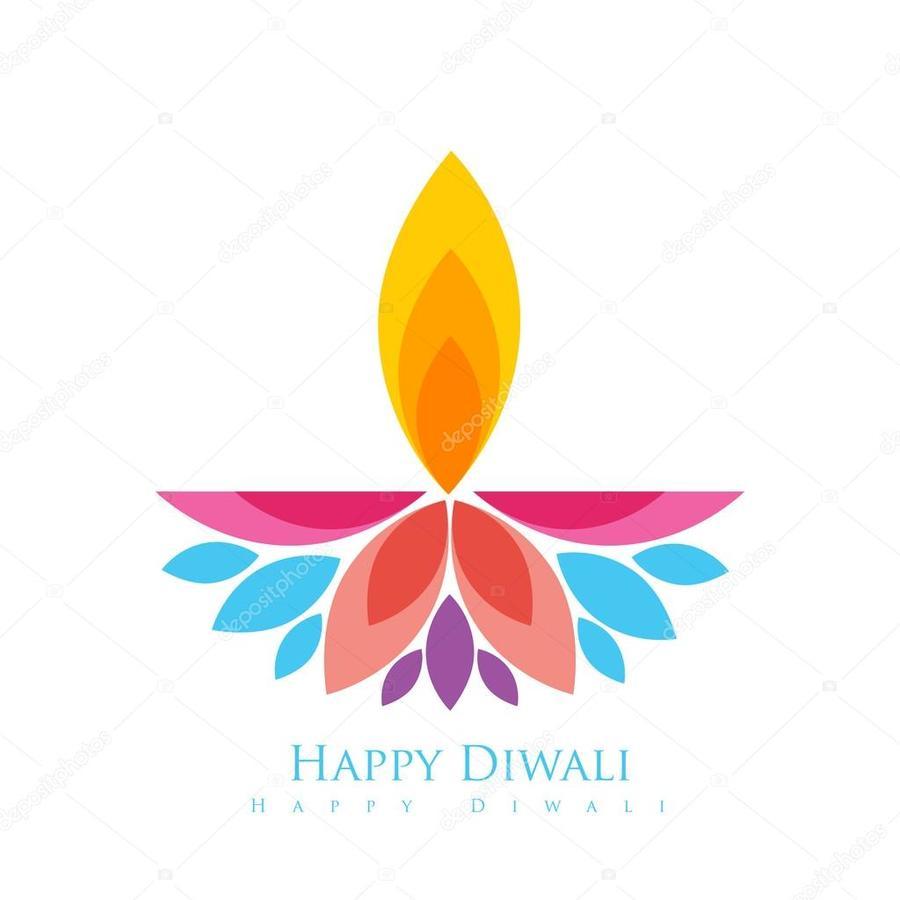 Download Happy Diwali Clipart Diwali Greeting Note Cards Diya
