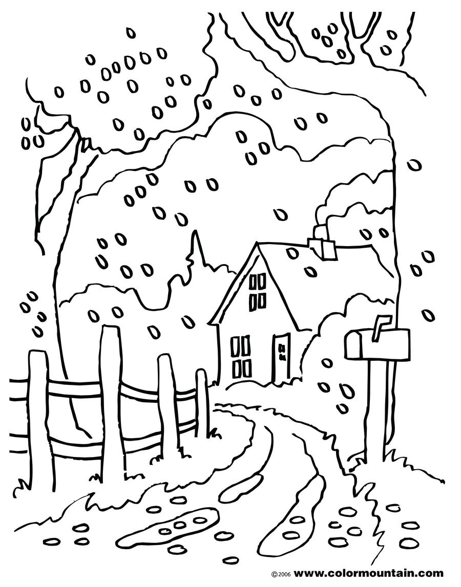 Download autmn coloring pages scenery clipart Coloring book ...