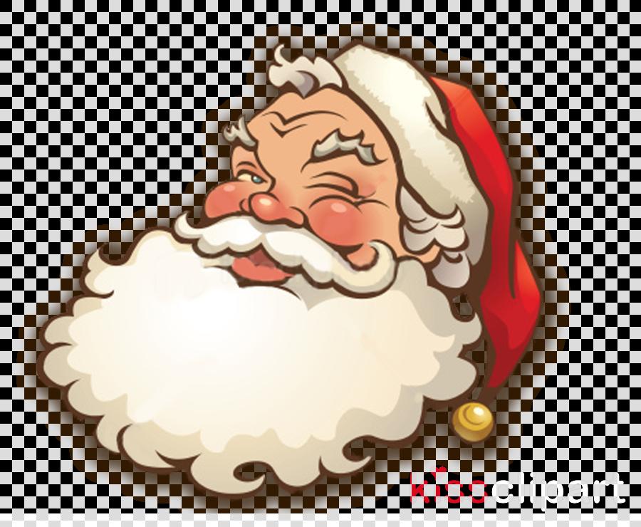santa claus face png clipart Santa Claus Clip art