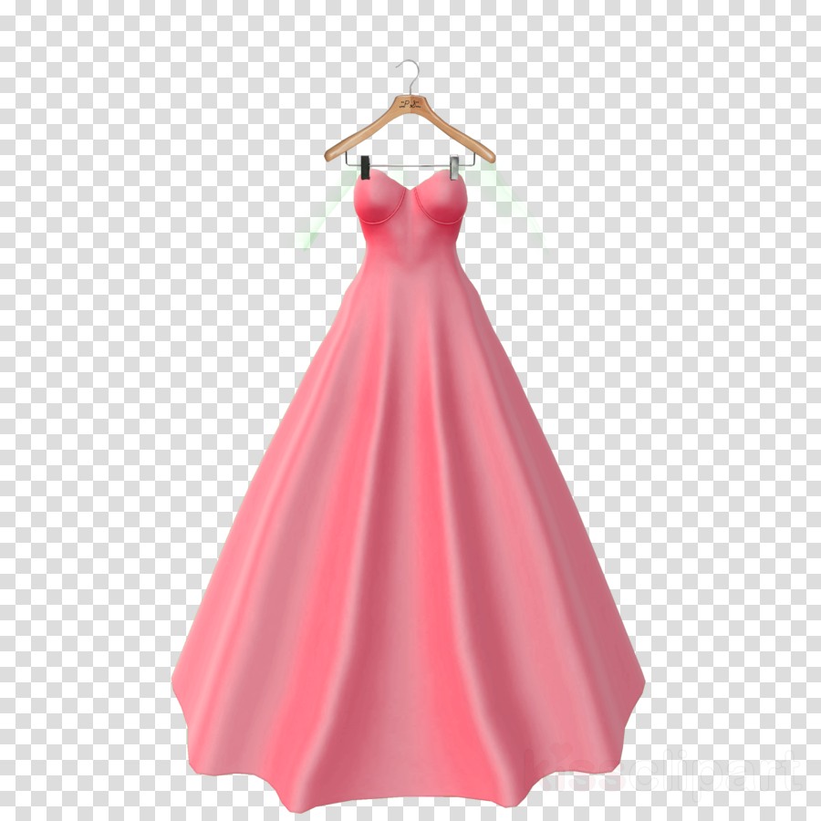 Dress clipart Dress Clothing Formal wear