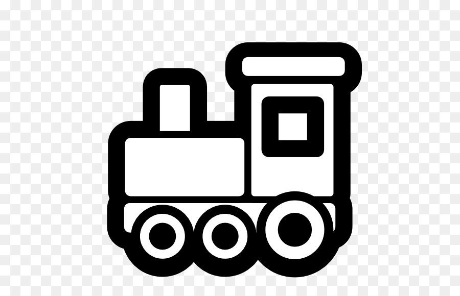 Gambar Kereta Api Thomas Hitam Putih Thomas The Train Background Clipart Train Black Text Transparent Clip Art