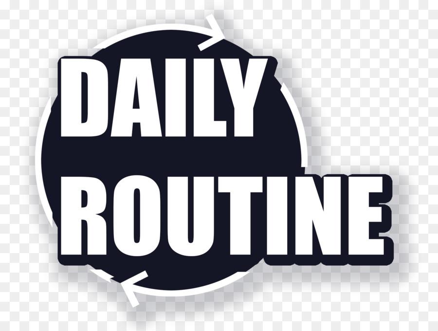 daily routine logo clipart Logo