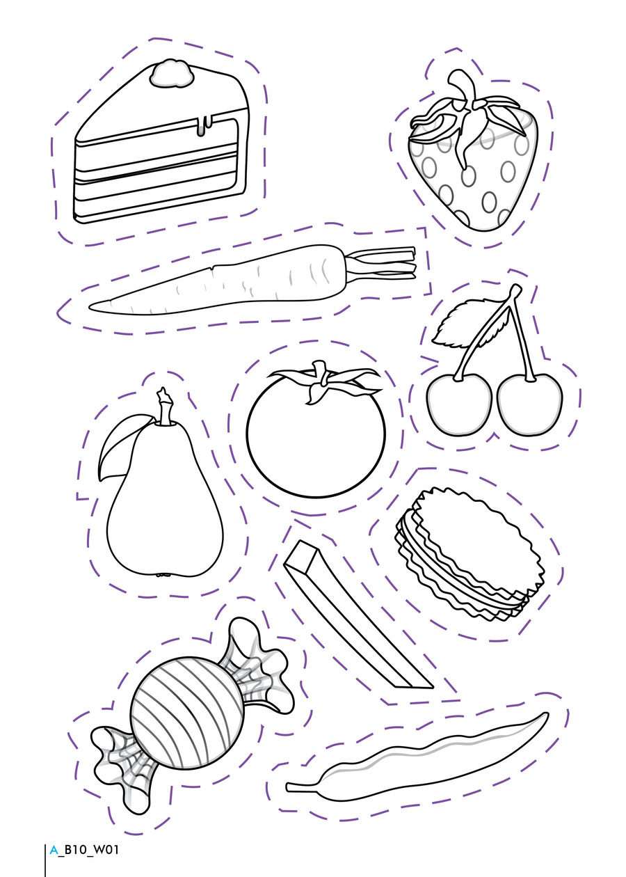 Download Healthy And Unhealthy Food Worksheet Clipart Junk Health