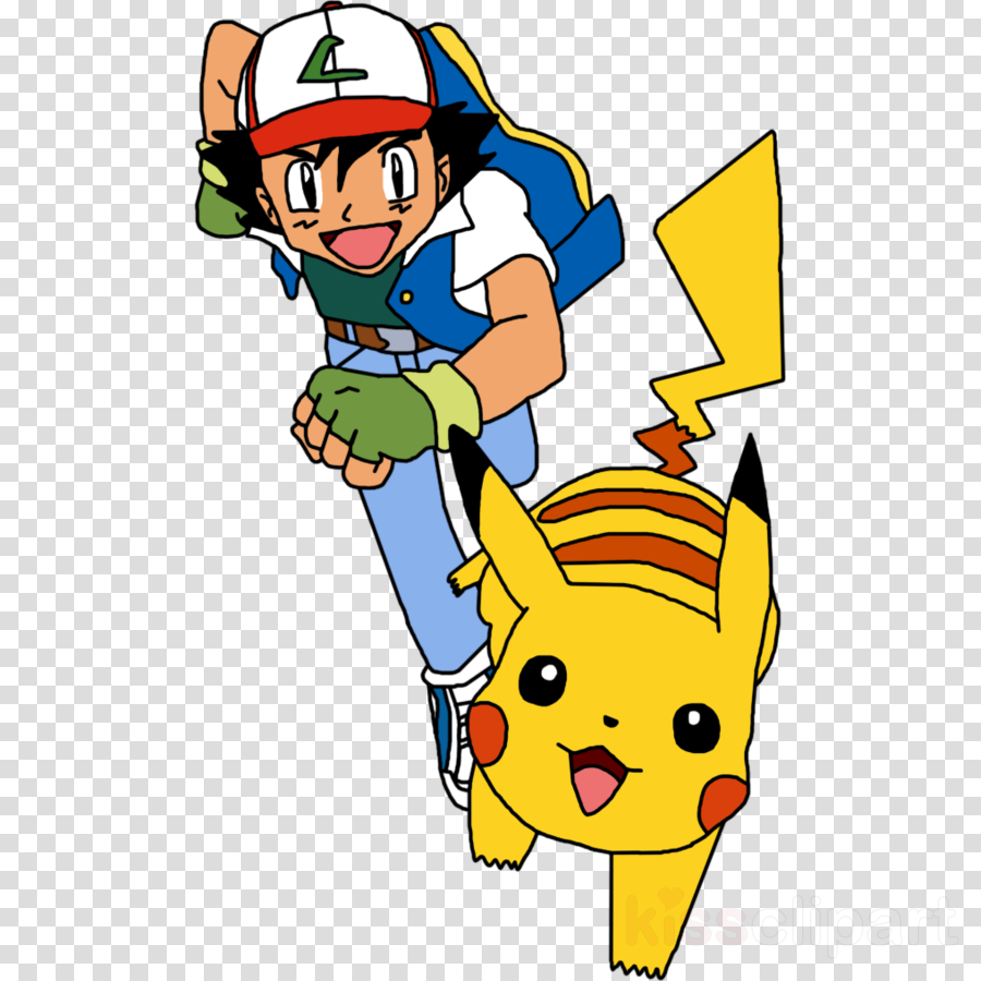 Pikachu Yellow Line Transparent Png Image Clipart Free Download