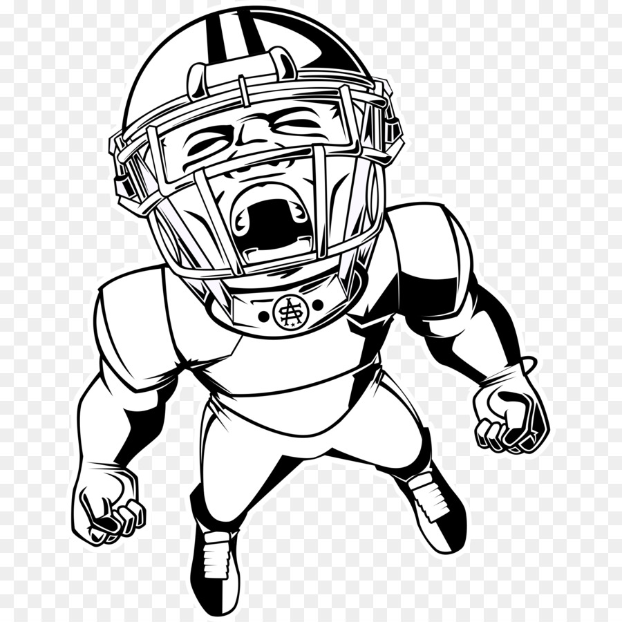 American Football Background Clipart Nfl Drawing