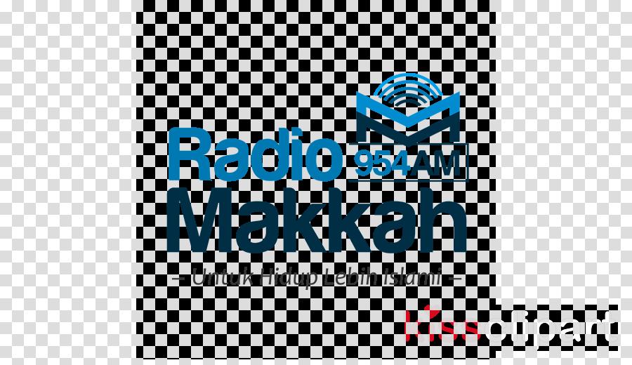 Radio Makkah AM clipart Logo Mecca Brand