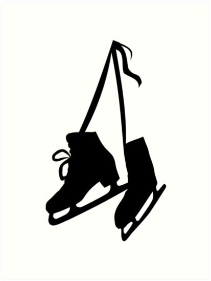 Ice Skating Pat N - Ice Skating Shoes Drawing Clipart (#1035905) -  PinClipart