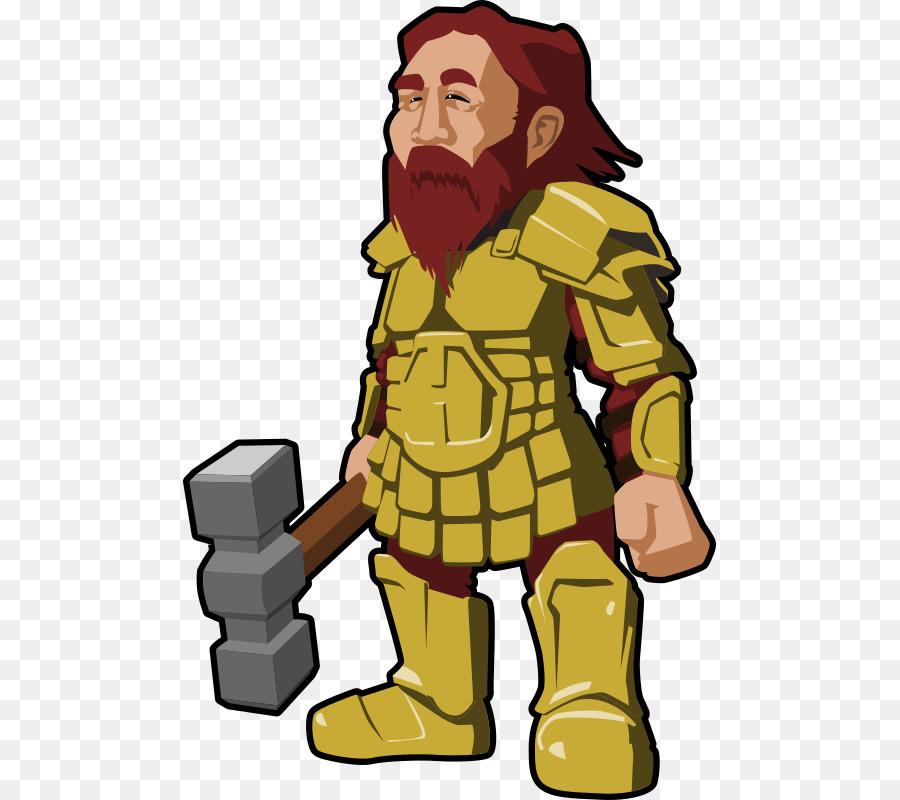 dwarf vector clipart Dwarf Clip art