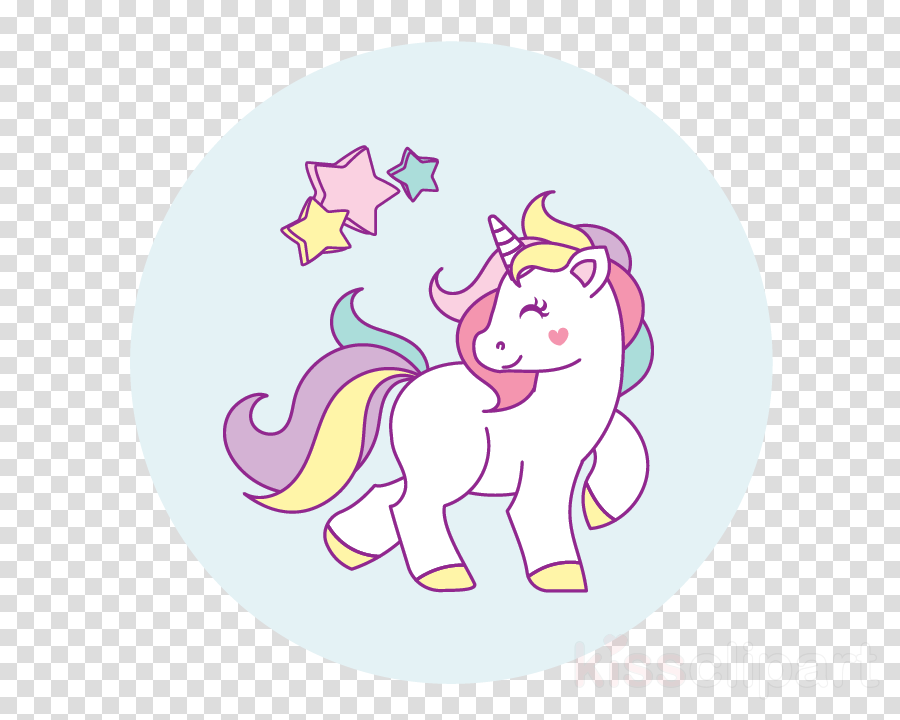 cute unicorn clipart - 900×720