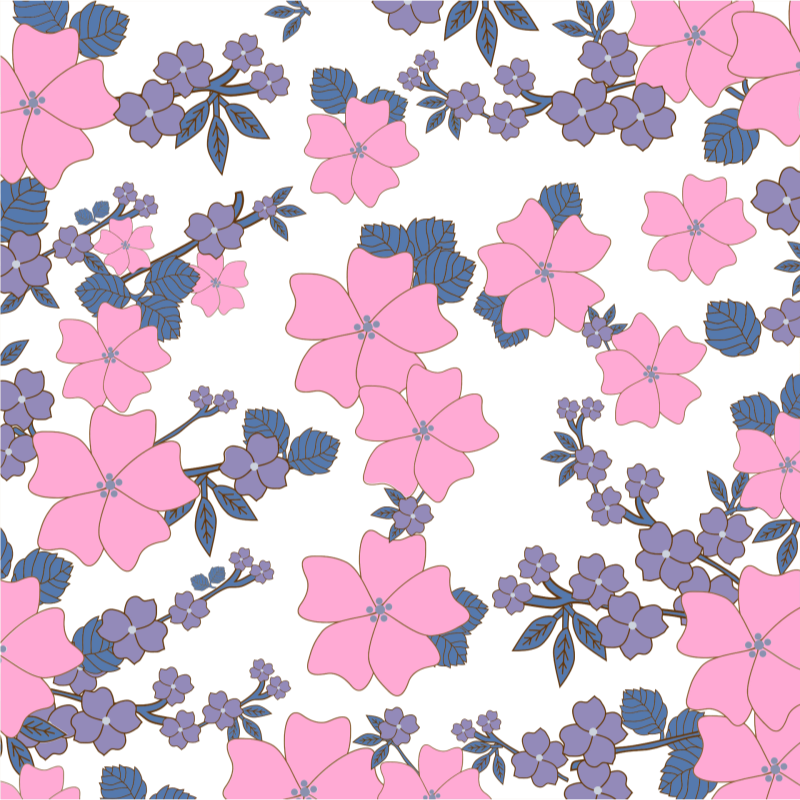 Floral Pattern Background clipart